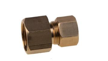 COUPLER 3/8F X 1/4 OD (66-4C)