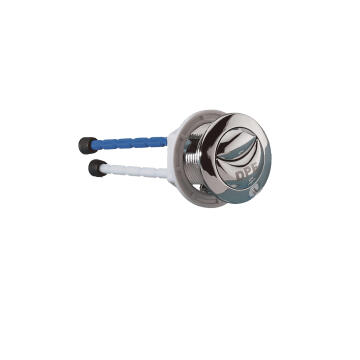 Dual flush top push button with legs