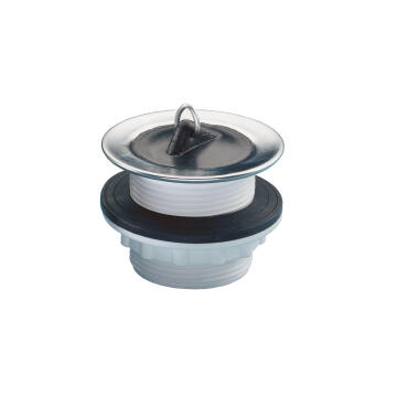 """Sink and bath waste (1 1/2"""" x 50mm) with plug and stirrup"""