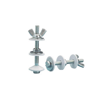 Fixation bolt and nut long