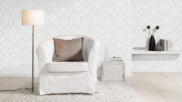 DAMASK PAINTABLE W/PAPER