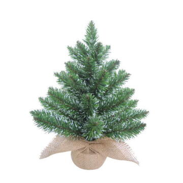 CHRISTMAS TREE WHITE TIP 30CM (H)