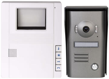 INTERCOM VIDEO WIRED BLACK & WHITE 4