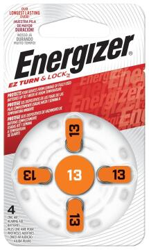 HEARING AID 13 PCK 4 ENERGIZER