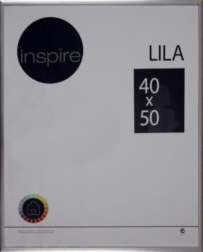 FRAME INSPIRE LILA SILVER 40X50CM