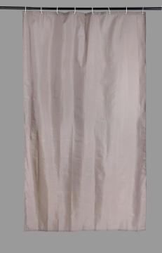 Shower Curtain Polyester SENSEA Sunny brown 120X200CM