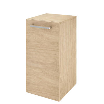 Bath room carbinet under basin 1 door Easy oak