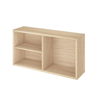 EASY SMALL OPEN CABINET 36CMX19CM OAK