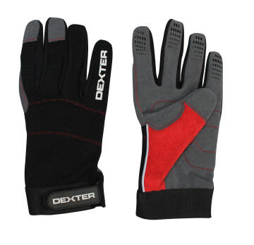 DEXTER SYNTHETIC AND SPANDEX GLOVE. SIZ