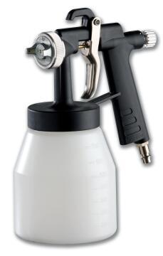 SPRAY PAINTING GUN + CUP IN PLASTIC