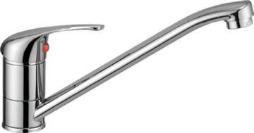 Kitchen tap lever mixer Nerea chrome