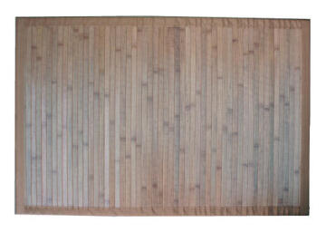 BAMBOO RUG LIGHT BROWN 60X90CM