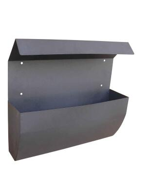MAILBOX STAINLESS STEEL BLACK STD