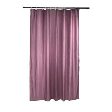 Shower Curtain polyester SENSEA Happy grey 180X200CM