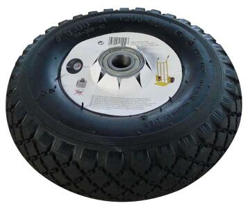 INFLATABLE RBR WHEEL BLL BRG 4PLY 20MM