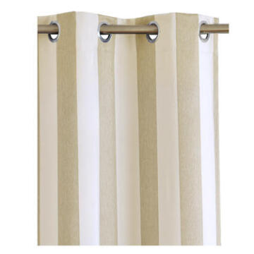 CURT BL/OUT TAUPE 140X260CM