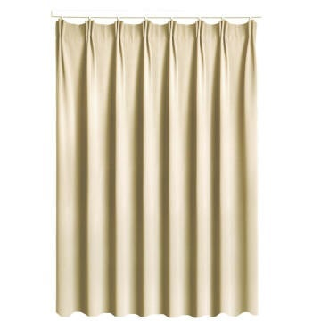 CURT BL/OUT TAUPE 200X260CM