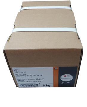 MACHINE SCREW FLAT CSK SLOT 5X50 KG