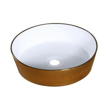 Sit on basin ceramic ARRAS 38,5X38,5X10,5CM