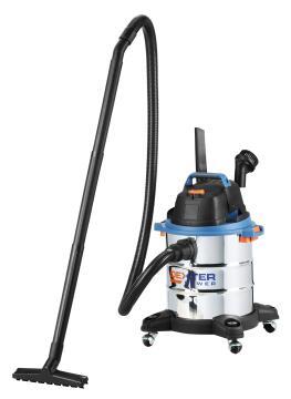 Wet & dry vacuum stainless steel DEXTER POWER 1400W
