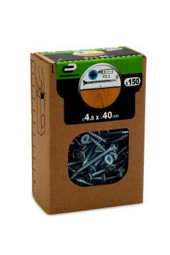 C.BOARD SCREW CSK PZ HD 150P 45X40 BOX