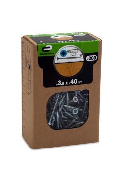 C.BOARD SCREW CSK PZ HD 200P 35X40 BOX