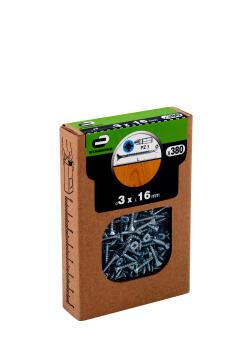 C.BOARD SCREW CSK PZ HD 380P 3X16 BOX
