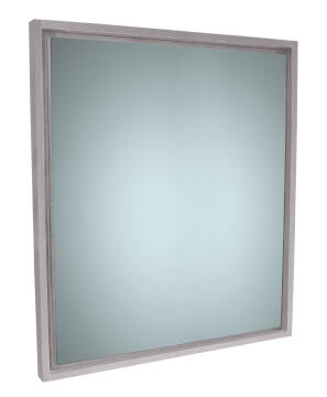 Mirror simple with frame Nordic grey 70CM