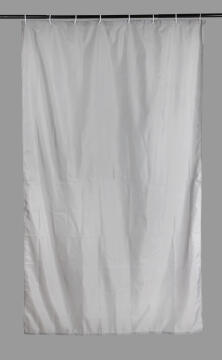 Shower Curtain Polyester SENSEA Sunny grey 120X200CM