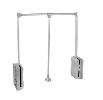 Retractable cupboard rail H84xL57.79xD14cm