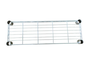 STANDARD RECTANGLAR SHELF CHROME 20X60CM