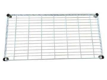STANDARD RECTANGLAR SHELF CHROME 45X90CM