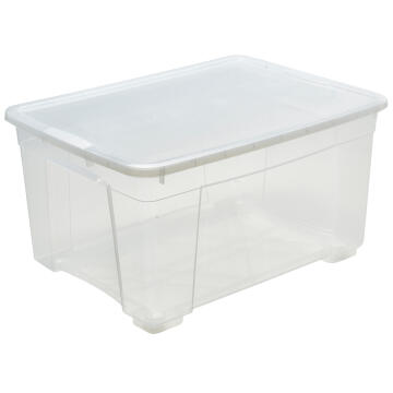 CLEAR PLASTIC BOX 130L