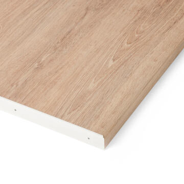 Kitchen worktop aluminium junction white 38mm
