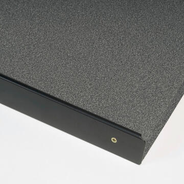 Kitchen worktop aluminium junction black 38mm