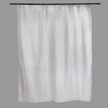 Shower Curtain polyester SENSEA Romantic grey 180X200CM