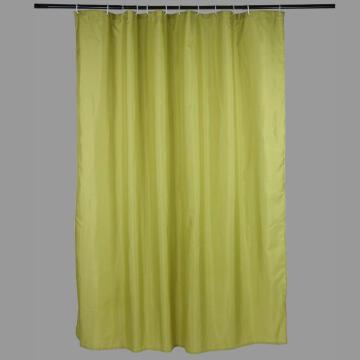 Shower Curtain polyester SENSEA Happy green 180X200CM