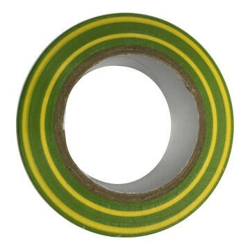 Insolation tape 0.15x15mm green and yellow 10m