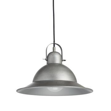 PENDANT LAMP E27 1X60W D30CM IRON BRUSHE
