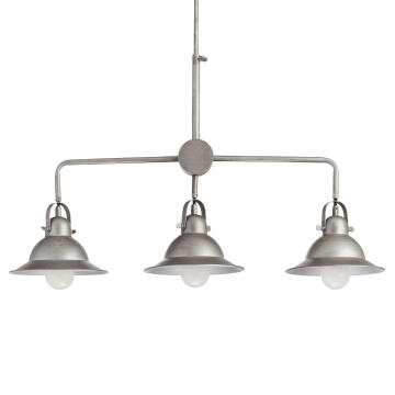 PENDANT LAMP E27 3X60W IRON BRUSHED, STE