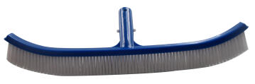 CURVED POLYBRISTLE WALL BRUSH 45CM