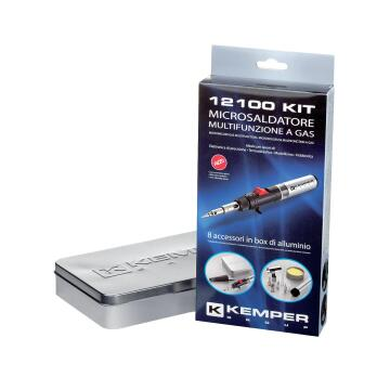 Micro-soldering kit KEMPER supergas 12100kit